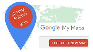 Google My Maps screenshot